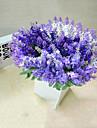 Une succursale Polyester Lavande Fleur de Table Fleurs artificielles 13.7*3.9*0.31