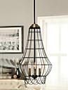 Lampe suspendue ,  Rustique Peintures Fonctionnalite for Style mini MetalSalle de sejour Salle a manger Bureau/Bureau de maison chambre