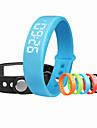W5 Smart armband / Aktivitetsmonitor Brända Kalorier / Stegräknare / Alarmklocka / Temperatur Display / Sömnmätare / Stoppur