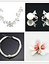 Wedding Suit(Headdress & Necklace & Earrings & Brooch)