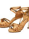 """Scarpe da ballo - Disponibile """"su misura"""" - Donna - Latinoamericano - Stiletto - Satin - Nero / Altro"""