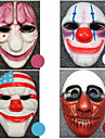 Masque Inspire par Cosplay Cosplay Anime/Jeux Video Accessoires de Cosplay Masque Blanc / Rouge / Bleu / Violet ABS Masculin