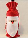 jultomten vin bag far julklapp väska julpynt 1st