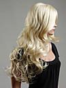 l\'Europe et les Etats-Unis le nouveau blond platine ms cheveux boucles perruque