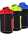 ARSUXEO® Cycling Vest Women\'s / Men\'s / Unisex Sleeveless BikeBreathable / Quick Dry / Windproof / Lightweight Materials / Reflective