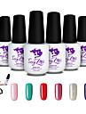 Sexy Mix Soak Off LED UV Nail Gel Polish Color Gel Nail Art Manicure Kit