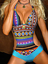Women\'s New Style Bohemian Brazilian Padded One Piece Swimwear
