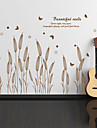 Wall Stickers Wall Decals,Reed Grass PVC Wall Stickers