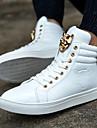 Damă Bărbați Noutăți Pantofi vulcanizați Luciu PVC Primăvară Vară Toamnă Iarnă Casual Noutăți Pantofi vulcanizați Cataramă Dantelă Găuri