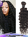 1st / lot malaysia virgin hår djup curl våg 100% människohår obearbetat hår väver