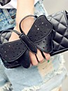 Women PU Casual / Outdoor Clutch / Evening Bag Black