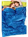 Sovsäck Rektangulär Dubbel +5°C~+15°C Hollow Bomull 180cm+30cm X 145cm Camping / Strand / Resa / Jakt / LandFuktighetsskyddad / Damm