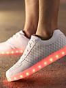 Bărbați Confortabili Pantofi Usori Piele Primăvară Vară Toamnă Iarnă Casual Dantelă Toc Plat Alb