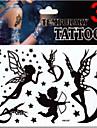 1 Package - Autres - Multicolore - Motif - 17*16cm - en Paillettes - Tatouages Autocollants - JT -Bebe / Enfant / Homme / Girl / Femme /