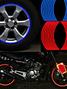 mode reflexion jante bande accessoires de voiture bande velo moto polyethylene autocollant de roue de terephtalate