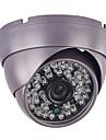 Cctv 1200tvl hd cmos 3.6mm 48pcs ir leds armor dome surveillance camera de securite