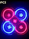 10pcs morsen® complet 10W spectru E27 / GU10 3red + 2blue condus cresc lumini pentru sistem hydroponics plante floare