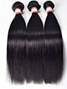 """3st / lot 8 """"-30"""" obearbetat malaysiska hår människohår väver rakt hår människohår rakt mänsklig jungfru hår"""