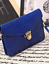 Women PU Casual / Outdoor Shoulder Bag Blue / Green / Gold / Silver / Black