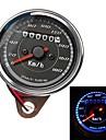 motorcykel vägmätare hastighetsmätare gauge meter dubbla färg ledde motljus