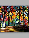 Pictat manual Peisaj Orizontal,Stil European Un Panou Canava Hang-pictate pictură în ulei For Pagina de decorare