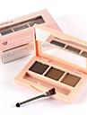 smart Cat® tre färger varaktig karaktär vattentät ögonbryn pulver