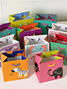 2 Piece/Set Favor Holder - Cubic Card Paper Favor Bags Non-personalised