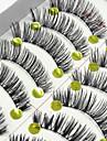 ögonfransar Hela ögonfransar Ögonfrans Korsvis Naturligt långa Förlängda Lyfta ögonfransar Volym Naturlig Handgjord Fiber