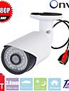 CCTV sony cms 2.0megapixel 1080p 36st lysdioder ir-cut inomhus bullet IP övervakningskamera p2p nätverkssäkerhet IP-kamera