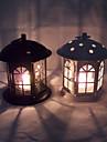 Candle Holders Semester Modern / Traditionell / Rustik / Antik / Bekvämt / Analog / Naturlig / Romantisk / Vintage / Europa Heminredning,
