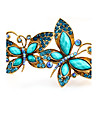 Z&X® Fashion Butterfly  Hairpins Wedding / Rhinestone Party / Daily 1pc
