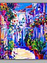 Peint a la main PaysagePastoral Un Panneau Toile Peinture a l\'huile Hang-peint For Decoration d\'interieur