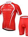 XINTOWN® Maillot et Cuissard de Cyclisme Unisexe Manches courtes VeloRespirable / Sechage rapide / Resistant aux ultraviolets / Materiaux