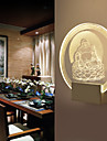 AC 110-120 AC 220-240 5 Modern/Contemporan Altele Caracteristică for Cristal LED Bec Inclus,Lumină Ambientală Lumina de perete