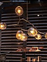 40W Ljuskronor ,  Traditionell/Klassisk / Rustik/Stuga / Vintage / Kontor/företag / Rustik Elektropläterad Särdrag for Ministil Metall