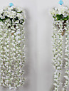 Polyester Hortensias Fleurs artificielles