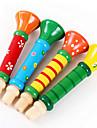 bois trompette colore haut-parleur jouets musicaux jouets instruments de musique pour les enfants