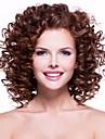 perruques frisees couleur marron style chaud superieure synthetique de qualite