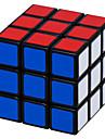 Shengshou® Cube de Vitesse  3*3*3 Vitesse Cubes magiques Noir Blanc Autocollant lisse Feng Anti-pop ressort reglable ABS