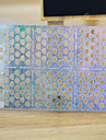 Abstrakt / Vackert - Finger / Tå - 3D Nagelstickers - av Andra - 5 sheets - styck 13*7.5 - cm