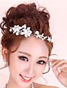 varm stil av hög kvalitet diamant pärla huvudbonad hår tillbehör bröllop tillbehör