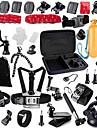 Accessoires pour GoPro,Fixation Frontale Insert Antibuee Caisson Camera Sportive Monopied Trepied Sacs Vis Buoy Grande Fixation Ventouse