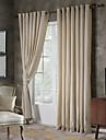 Två paneler Rustik / Modern / Nyklassisistisk / Medelhavet / Europeisk Solid / Polka dots / Nyhet / Tecknat Beige / Grå Bedroom