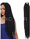 #1 / #2 / #1B havana twist Flätor Hårförlängningar Kanekalon Strå gram Hair Braids