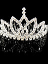 Dame Rhinestone / Krystall / Legering Headpiece-Bryllup / Spesiell Leilighet Diademer 1 Deler