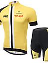 XINTOWN® Cykeltröja med shorts Unisex Kort ärm CykelAndningsfunktion / Snabb tork / Ultraviolet Resistant / Lättviktsmaterial / 3D Pad /