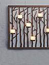 Metal Wall Art Wall Decor,Branch Candlestick Wall Decor