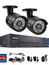 annke® 4ch surveillance video systeme de cameras de securite 960H 720p reseau 1200tvl dvr cctv