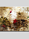 Pictat manual Peisaje Abstracte Modern / Clasic / Realism / Pastoral / Stil European Un Panou Canava Hang-pictate pictură în ulei For