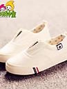 Blå / Vit / Svart och Röd-Platt klack-Pojkar / Flickor-Komfort / Rund tå-Kanvas-Utomhus / Fritid / Sport-Loafers & Slip-Ons
